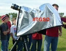 TeleGizmos #TGSO Solar Observing Hood for Coronado, PST, Lunt, Solar Filter
