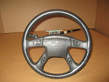 2002 CHEVY TRAILBLAZER STEERING WHEEL COLUMN ASSEMBLY WITH AIR BAG & KEY