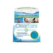 ClearEars Water Absorbing Earplugs - 5 Pair