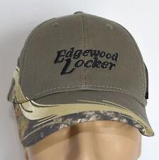 New Hat EdgeWood Locker Iowa Butcher Mossy Oak Camo Baseball Cap Lid Adjustable