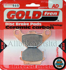 TGB 400 Target (4x2) Rear Sintered Brake Pads 2009-2010 - Goldfren