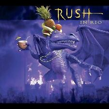 Rush 3 CD SET. in Rio by Rush (CD, Oct-2003, 3 Discs, Atlantic (Label)) LIVE