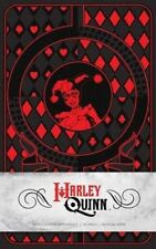 Harley Quinn Hardcover Ruled Journal by Matthew K. Manning Hardcover Book (Engli