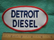 Detroit Diesel Trucks Service  Uniform  Patch