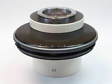 Zeiss Phase Contrast Condenser for Axiovert 100 Inverted Microscope, PN 451756