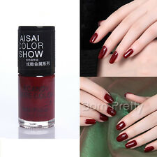 15ml Dark Red Color Nail Polish Nail Enamel Nail Art Painting Varnish Polish