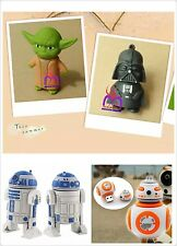 R2D2 BB8 USB Flash Drive Star War Yoda Darth Vader Cute Giftbox memory stick 3D