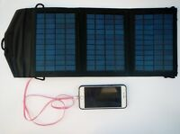 Instapark 10 Watts Solar Panel Portable Charger Dual USB Ports Cell Phone Tablet