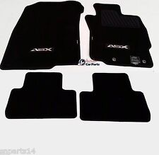 MITSUBISHI ASX manual Floor Mats CARPET Brand New Genuine 2010-2015 XA XB BLACK