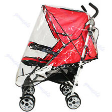 Universal Waterproof Wind Shield Rain Cover Fit Most Strollers Buggy Pushchairs