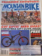 Mountain Bike Action Magazine December 2006 Lighter Intense Spider Trailbike sho