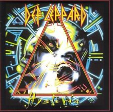 Hysteria by Def Leppard (Cassette, Aug-1987, Mercury)