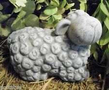 latex /W plastic backup concrete plaster turned head sheep  mold