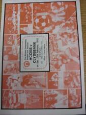 20/02/1982 Hamilton Academical v Clydebank  (Light Crease, Nicks)