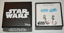 Women's Disney Star Wars Storm Trooper 2 Pair Earrings Jewelry Set