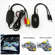 Wireless Transmitter & Receiver Kits 2.4Ghz RCA Video For Car Reversing Camera