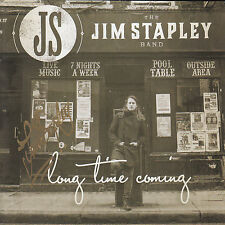 THE JIM STAPLEY BAND Long Time Coming UK SIGNED / AUTOGRAPHED 12-trk CD unplayed