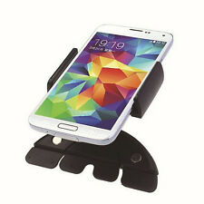 Car Auto CD Slot Mount Cradle Holder Stand  Mobile Smart Cell Phone GPS Black WB