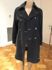 DIESEL Women's Coat Charcoal grey Size SMALL WORN TWICE!