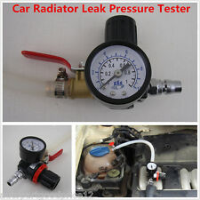 Car Truck Radiator Leak Pressure Tester Autos Water Tank Detector Checker Tool