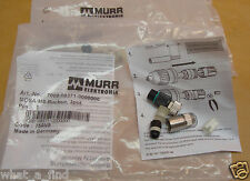 2 Lot NEW Murr Elektronik 7000-08371-0000000 MOSA-M8 Female plug Straight 3 Pole