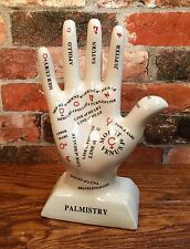 Porcelain Palmistry Vintage Holistic Art Sciences Hand Model