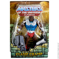MOTUC Clamp Champ Masters of the Universe Classics 2014 He-Man Club Eternia
