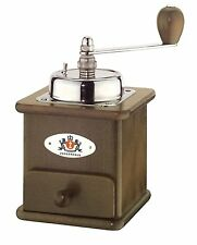 Zassenhaus Brasilia Coffee Mill Burr Grinder, Dark Stained Beech Made in Germany