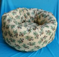 "Starbarks Pet Beds Small 12"" Washable Orthopedic Nest Donut Dog Cat Pet Bed USA"