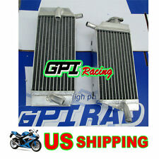 for Honda CRF450R 2005 2006 2007 2008 05 06 07 08 aluminum radiator