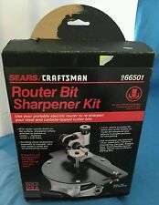 Sears Craftsman Router Bit Sharpener Attachment - Model 9 66501 - Original Box