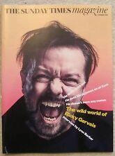 Ricky Gervais - Sunday Times Magazine – 4 December 2016