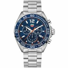 BRAND NEW TAG HEUER FORMULA 1 CAZ1014.BA0842 QUARTZ CHRONO BLUE CERAMIC WATCH