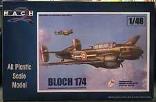 Mach 2 Models 1/48 BLOCH 174 French WWII Bomber