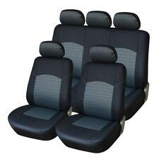 Sitzbezug Sitzbezüge Schonbezüge Grau-Schwarz ST #28 für Ford