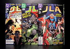 COMICS: DC: JLA #91-93 (2004) set - RARE (figure/batman/flash/justice league)