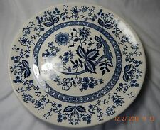 Heritage Japan Blue Onion Flowers Dinner Plate