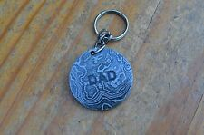damascus christmas gift keyring for DAD from the Eagle Collection ASM7881AQ