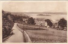 View From Fell Road, GRANGE OVER SANDS, Lancashire