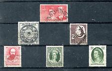 Australia Valores del año 1954-63 (BR-322)