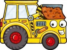DIGGER BY IGLOO BOOKS VEHICLE SHAPED BRAND NEW BOARD BOOK  A26