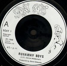 "STRAY CATS runaway boys/my one desire SCAT 1 uk arista 1980 7"" WS EX/"