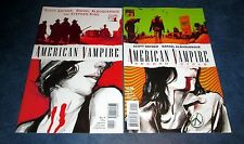 AMERICAN VAMPIRE #1 1st print + SECOND CYCLE #1 VERTIGO COMIC SCOTT SNYDER 2014