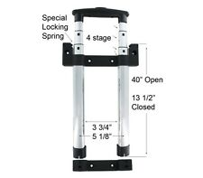 """Replacement 13 1/2"""" Pull Handle 4-Stage Internal Tube Set For Luggage Bags"""