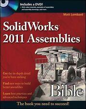 SolidWorks 2011 Assemblies Bible Lombard, Matt