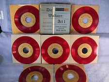 "Die Walkure: Act 1, RCA Victor WCT 58, 7 RED 7"" 45 RPM Box Set, Bruno Walter"