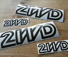 Vw t3 t25 transporter sticker wedge 2wd dk grey or White