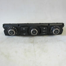 GENUINE USED BMW E60 E61 5 SERIES A/C HEATER CLIMATE CTRL UNIT - 64119122398