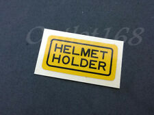 Helmet Holder Sticker Label Honda GL1100 GL1200 CB450SC CB1000 CBR600F VFR700F