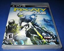 MX vs ATV Alive PS3 Factory Sealed! Free Shipping!